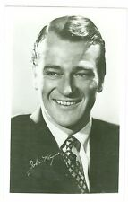 Early 1930's Actor John Wayne Publicity Photo Postcard of a young John Wayne