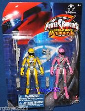 Power Rangers Operation Overdrive Yellow and Pink Ranger New 5 inch disney store