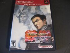 Tekken Tag Tournament Sony PlayStation 2 PS2 Video Game Disc Complete Manual