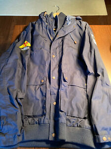 Pearl Jam Penfield Weatherproof NEW 2XL JULY 2012 Berlin Chernobyl Navy Hudson