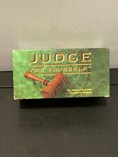 JUDGE FOR YOUR SELF THE GAME OF REAL LIFE COURTROOM DRAMAS