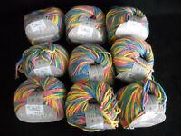 Nashua Yarn Lot of 9 Skeins 50 Grams Cilantro Color NCIL032 Lot 5955
