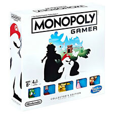 Monopoly Nintendo Gamer Edition with 5 Extra Tokens - NEW Sealed (Super Mario)