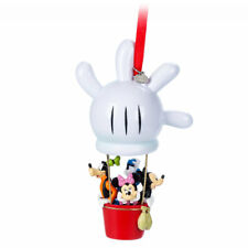 Disney Store Mickey Mouse Clubhouse Balloon Christmas Ornament Minnie Goofy NWT
