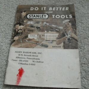 Vintage 1954 Booklet Stanley Tools Catalog No 54