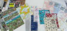 23 Vintage American Greetings Cleo Carlton Wrapping Paper Ziggy Fishing Animals