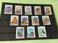 Russia buildings  stamps   Ref 53199