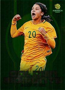 ✺New✺ 2017 2018 Matildas Card SAM KERR Golden Moments