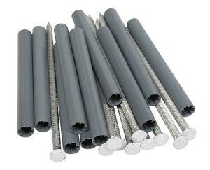 Amerimax 7 L x 5 in. H Aluminum Gutter Spike and Ferrule Gray