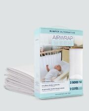 Airwrap Mesh Cot Liner 2 Sides White From Baby Barn Discounts