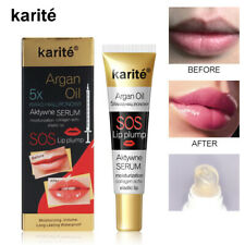 Instant Lip Plumping Serum Gloss Volumising Plumper Full Buxom Lips Balm NEW sjf