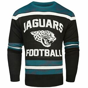 Jacksonville Jaguars NFL Men's Glow in the Dark Ugly Christmas Sweater Size 2XL