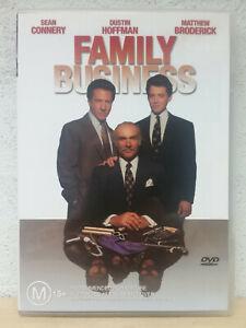 Family Business DVD 1980's Movie - Dustin Hoffman, Sean Connery REGION 4 AUST