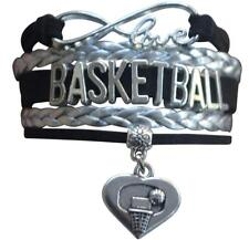 Infinity Collection Basketball Bracelet- 5 inch
