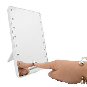 Neu Kosmetikspiegel 10 Vergrößerung Saugnapf Schmink- Rasierspiegel LED