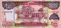 SOMALILAND 1000 SHILLINGS 2015, UNC, REPLACEMENT ZZ BANKNOTE, P.20
