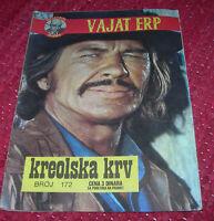 Charles Bronson VAJAT ERP Yugoslavian from 70s VERY RARE
