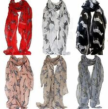 Shawl/Wrap Polyester Animal Print Scarves & Shawls for Women