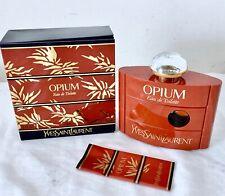 YSL Opium vintage pre barcode