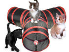 3 WAYS Foldable Pet Fun Tunnel Cat Puppy Play Training Toy