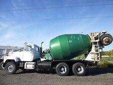 Mack Mixer Truck Mack 686 Model, Mack Heavy Duty Concrete Cement Mixer Truck