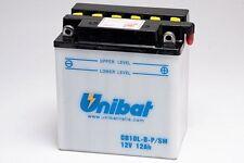Batteria Moto Scooter Unibat 12V 11AH CB10L-B-P/SM = A YB10L-B-P-SM CB10L-B-P
