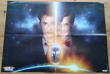 Doctor Who double sided A2 poster & 2010 Planner, 10th & 11th doctors