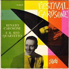 """RENATO CAROSONE """"FESTIVAL CAROSONE"""" 50'S 25 CM PATHE ST 1086"""