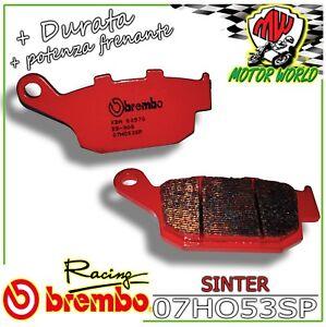 Par Pastillas Brembo Sinter Traseros Honda CBR 250R ABS 2011 2012 2013