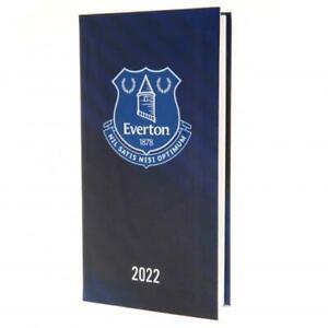 Everton FC Football Club Pocket 2022 Hardback Diary Week to View EFC EPL