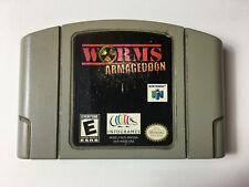 cartouche seule worms armageddon version USA Nintendo 64
