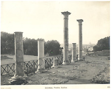 Roma, Palatino, Basilica Vintage silver print Tirage argentique d'époque