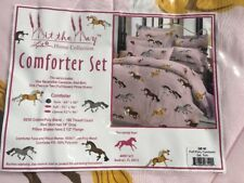 Hit The Hay Twin Puff Pony Comforter Horse Riding Bnip Free Post