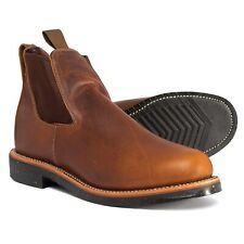 Chippewa Tan Renegade Chelsea Boots Mens  Size 8D  Brown Leather 92346 MSRP $320