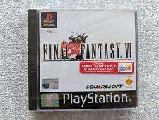 Sony Play Station 1-Final Fantasy VI (authentische Sony Silber versiegelt)