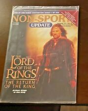 Rare New Sealed NonSport Update Magazine Lord of the Rings 2003 Convention /999