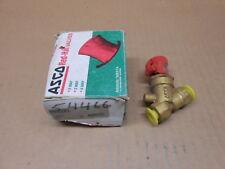 "1 NIB ASCO V022-A1 V022A1 FLOW CONTROL VALVE 300PSI 1/4"" PIPE SIZE"