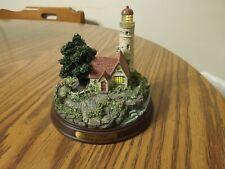 Thomas Kinkade Beacon of Hope lighted lighthouse
