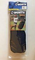 Worth Sliding Leg Guard Navy Blue Youth L/XL Baseball Softball Soccer