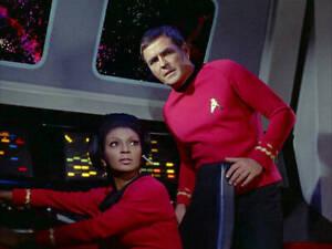 Star Trek 1969 The Original SeriesNichelle Nichols, James Doohan OLD TV PHOTO