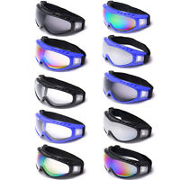 Riding Motorcycle Dustproof Sunglasses Ski Snowboard Goggles Full Frame Glasses