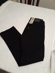 Levi's Boys 511 Slim Jeans in Washed Black Boys Size 12Reg 26x26
