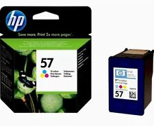 GENUINE AUTHENTIC HP HEWLETT PACKARD HP 57 COLOUR INK CARTRIDGE C6657AE C6657A