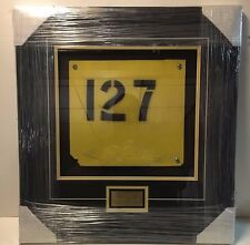 Original Boston Garden Balcony Section #127 Sign Boston Bruins & Celtics