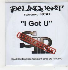 (FF698) Delinquent ft Kcat, I Got U - 2008 DJ CD