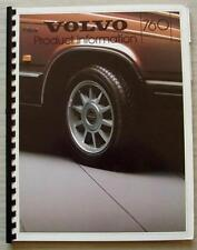 VOLVO 760 SERIES Car Product Information Dealers Brochure 1984 #MS/PV 592-84