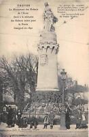 CPA 10 TROYES LE MONUMENT DES ENFANTS DE L'AUBE