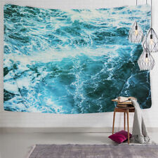 Ocean Wave Tapestry Wall Hanging Ocean Sea Tapestry Bedspread Room Table Cover