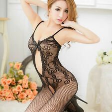 Lace Crotchless Fish Net Body Stocking Bodysuit Lingerie Nightwear Promotion