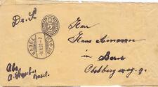 Switzerland 1902 2c PrePaid Newspaper Band Basel to Bern Used VGC